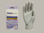 Luvas Mac3 Latex c/Pó Natural Blister  (8 un.)